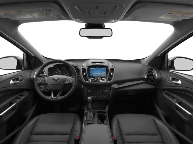 2017 Ford Escape Prices and Values Utility 4D Titanium 2WD I4 Turbo full dashboard