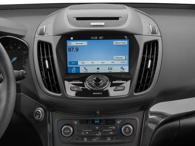 2017 Ford Escape Prices and Values Utility 4D Titanium 2WD I4 Turbo stereo system