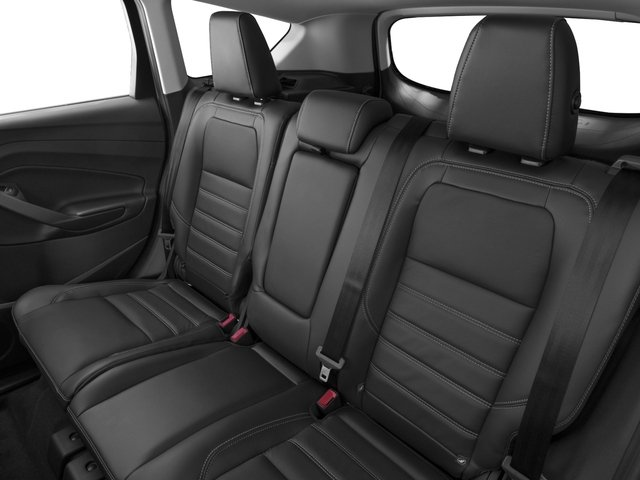 2017 Ford Escape Prices and Values Utility 4D Titanium 2WD I4 Turbo backseat interior