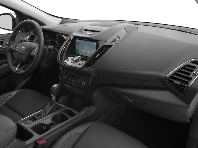 2017 Ford Escape Prices and Values Utility 4D Titanium 2WD I4 Turbo passenger's dashboard