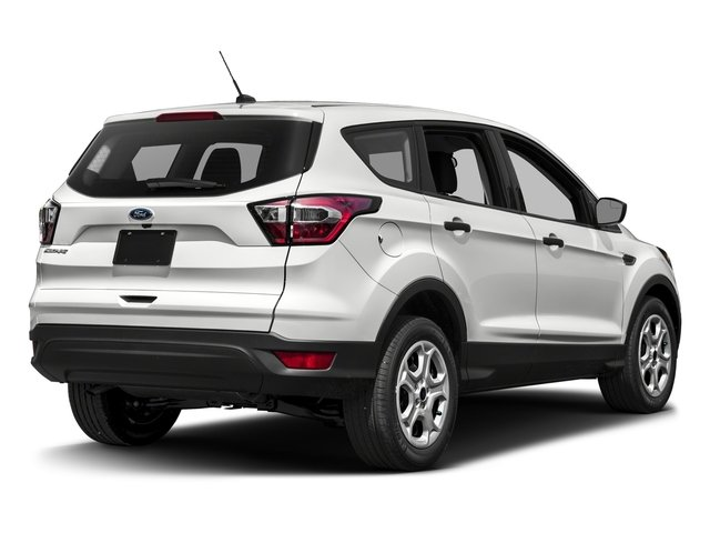 2017 Ford Escape Prices and Values Utility 4D SE EcoBoost 4WD I4 Turbo side rear view