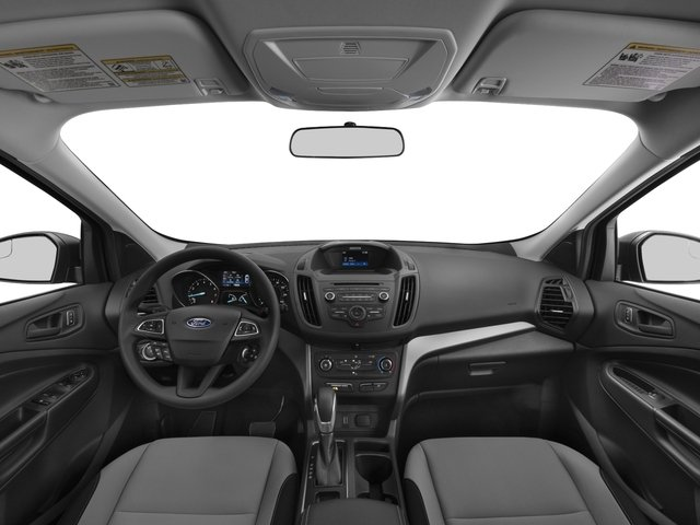 2017 Ford Escape Prices and Values Utility 4D SE EcoBoost 4WD I4 Turbo full dashboard