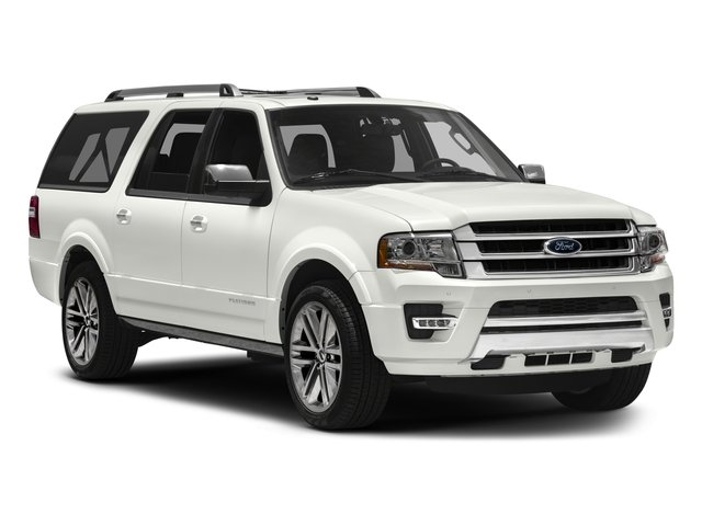 2017 Ford Expedition EL Prices and Values Utility 4D Platinum 2WD V6 Turbo side front view