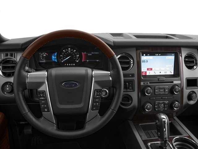2017 Ford Expedition EL Prices and Values Utility 4D Platinum 2WD V6 Turbo driver's dashboard