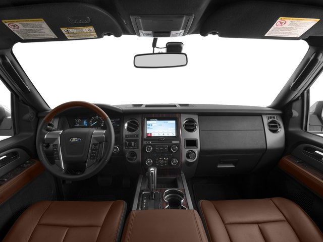 2017 Ford Expedition EL Prices and Values Utility 4D Platinum 2WD V6 Turbo full dashboard