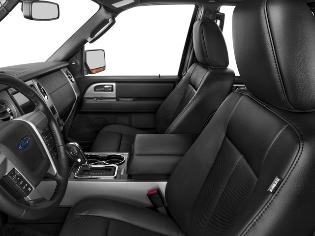 2017 Ford Expedition EL Prices and Values Utility 4D Limited 4WD V6 Turbo front seat interior