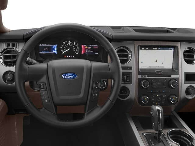 2017 Ford Expedition EL Prices and Values Utility 4D King Ranch 2WD V6 Turbo driver's dashboard