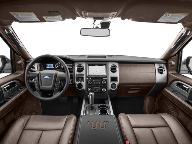 2017 Ford Expedition EL Prices and Values Utility 4D King Ranch 2WD V6 Turbo full dashboard