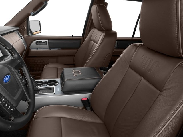 2017 Ford Expedition EL Prices and Values Utility 4D King Ranch 2WD V6 Turbo front seat interior