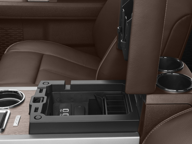 2017 Ford Expedition EL Prices and Values Utility 4D King Ranch 2WD V6 Turbo center storage console
