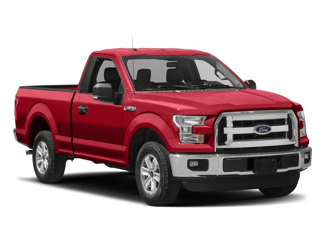 2017 Ford F-150 Prices and Values Regular Cab XLT 4WD side front view