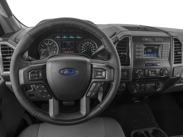 2017 Ford F-150 Prices and Values Regular Cab XLT 4WD driver's dashboard
