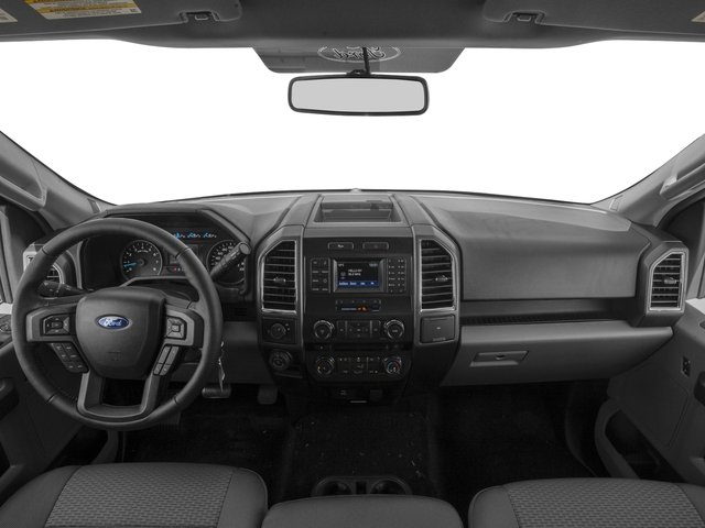 2017 Ford F-150 Prices and Values Regular Cab XLT 4WD full dashboard