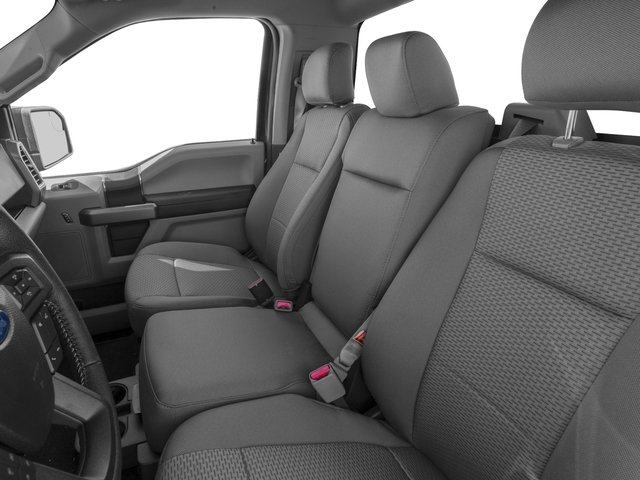 2017 Ford F-150 Prices and Values Regular Cab XLT 4WD front seat interior