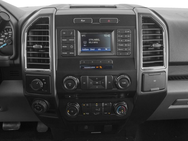 2017 Ford F-150 Prices and Values Regular Cab XLT 4WD stereo system