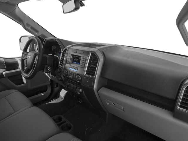 2017 Ford F-150 Prices and Values Regular Cab XLT 4WD passenger's dashboard