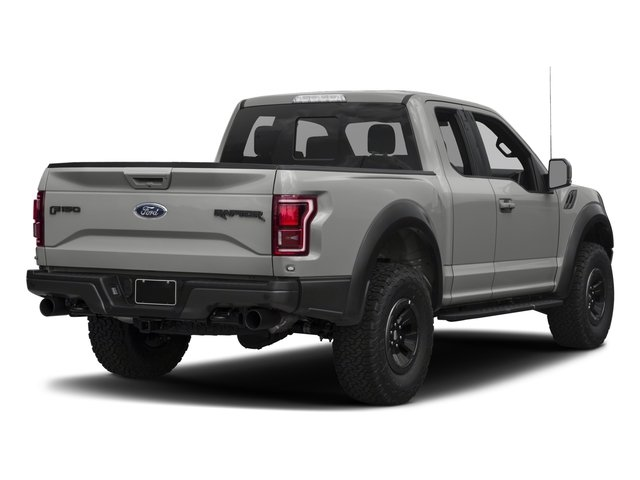 2017 Ford F-150 Prices and Values SuperCab Raptor 4WD side rear view