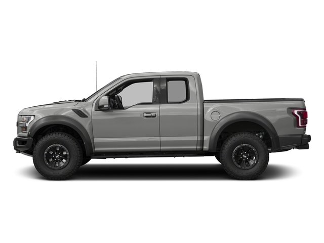 2017 Ford F-150 Prices and Values SuperCab Raptor 4WD side view