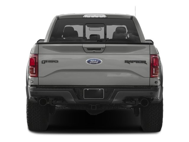 2017 Ford F-150 Prices and Values SuperCab Raptor 4WD rear view