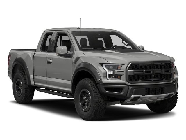 2017 Ford F-150 Prices and Values SuperCab Raptor 4WD side front view