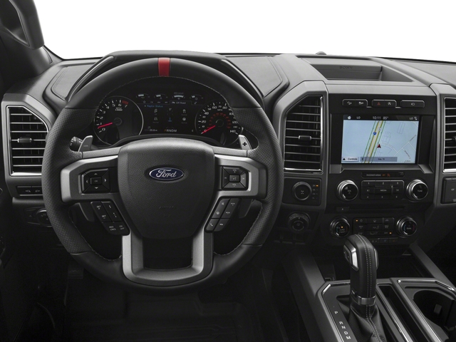2017 Ford F-150 Prices and Values SuperCab Raptor 4WD driver's dashboard