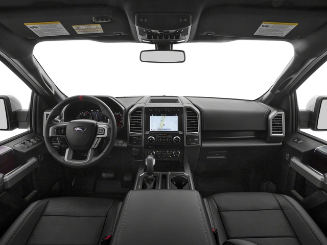 2017 Ford F-150 Prices and Values SuperCab Raptor 4WD full dashboard