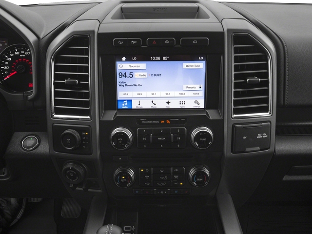 2017 Ford F-150 Prices and Values SuperCab Raptor 4WD stereo system