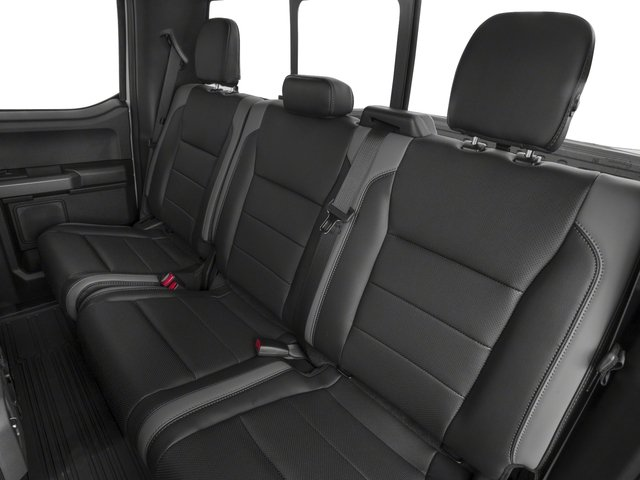 2017 Ford F-150 Prices and Values SuperCab Raptor 4WD backseat interior