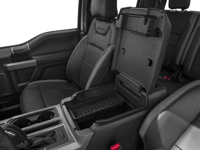 2017 Ford F-150 Prices and Values SuperCab Raptor 4WD center storage console