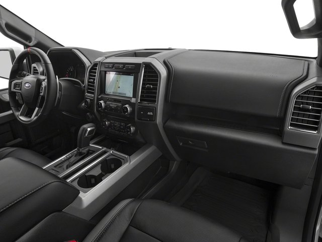 2017 Ford F-150 Prices and Values SuperCab Raptor 4WD passenger's dashboard