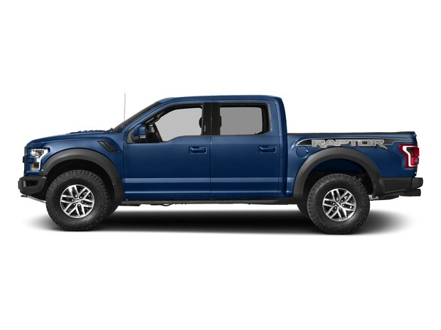 2017 Ford F-150 Pictures F-150 Crew Cab Raptor 4WD photos side view
