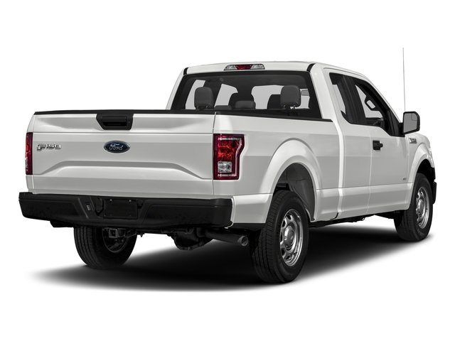 2017 Ford F-150 Pictures F-150 Supercab XL 4WD photos side rear view