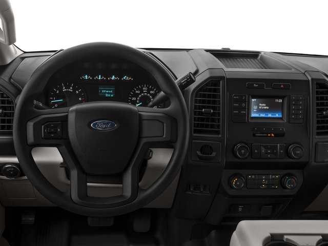 2017 Ford F-150 Pictures F-150 Supercab XL 4WD photos driver's dashboard
