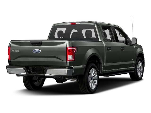 2017 Ford F-150 Prices and Values Crew Cab XLT 4WD side rear view