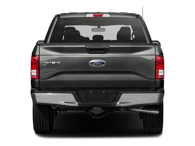 2017 Ford F-150 Prices and Values Crew Cab XLT 4WD rear view