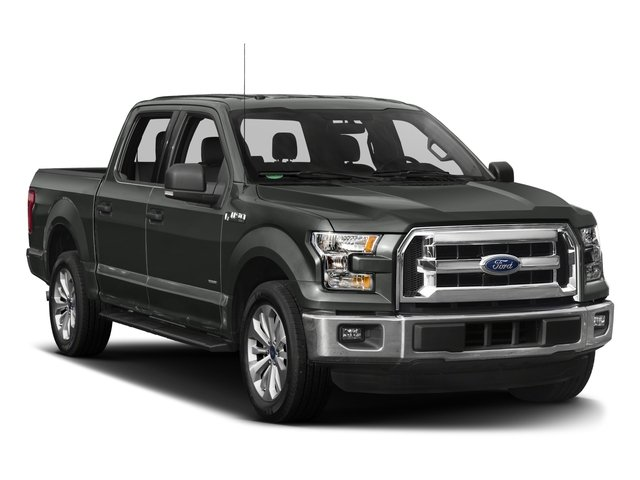2017 Ford F-150 Prices and Values Crew Cab XLT 4WD side front view