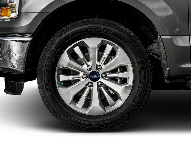 2017 Ford F-150 Prices and Values Crew Cab XLT 4WD wheel