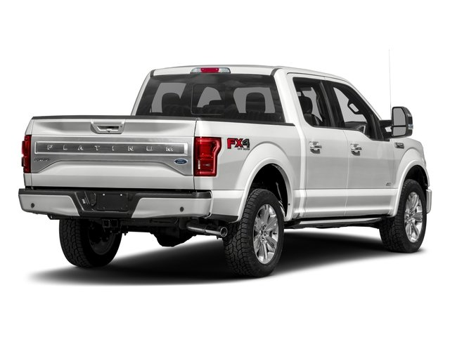 2017 Ford F-150 Pictures F-150 Crew Cab Platinum 2WD photos side rear view