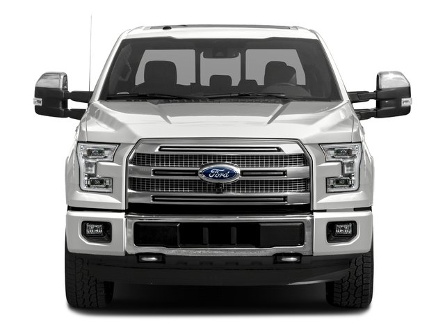 2017 Ford F-150 Pictures F-150 Crew Cab Platinum 2WD photos front view