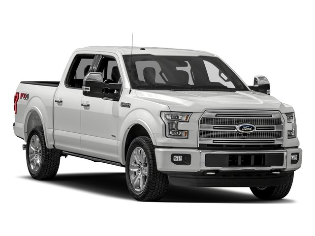 2017 Ford F-150 Pictures F-150 Crew Cab Platinum 2WD photos side front view
