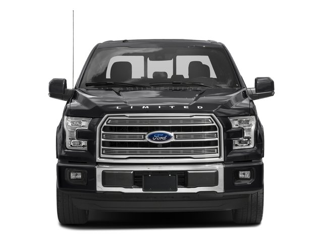 2017 Ford F-150 Prices and Values Crew Cab Limited EcoBoost 4WD front view