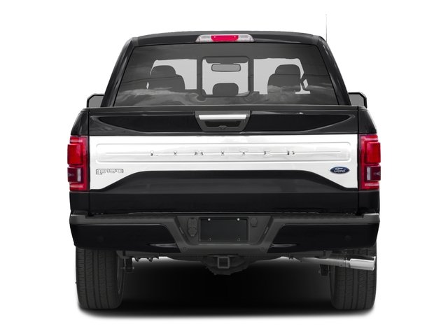 2017 Ford F-150 Prices and Values Crew Cab Limited EcoBoost 4WD rear view