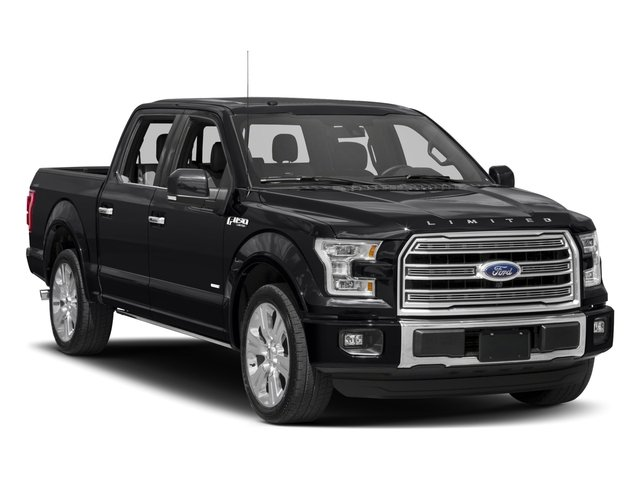 2017 Ford F-150 Prices and Values Crew Cab Limited EcoBoost 4WD side front view