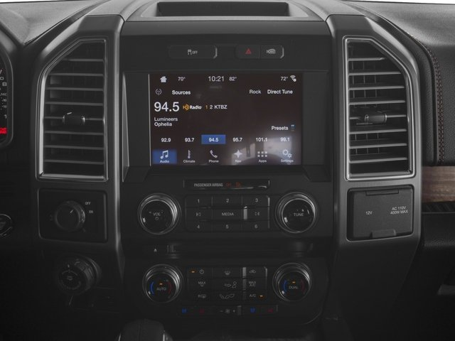 2017 Ford F-150 Pictures F-150 Crew Cab Limited EcoBoost 2WD photos stereo system