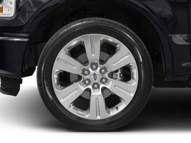 2017 Ford F-150 Pictures F-150 Crew Cab Limited EcoBoost 2WD photos wheel