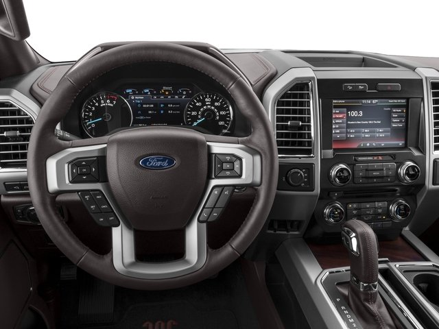 2017 Ford F-150 Prices and Values Crew Cab King Ranch 2WD driver's dashboard