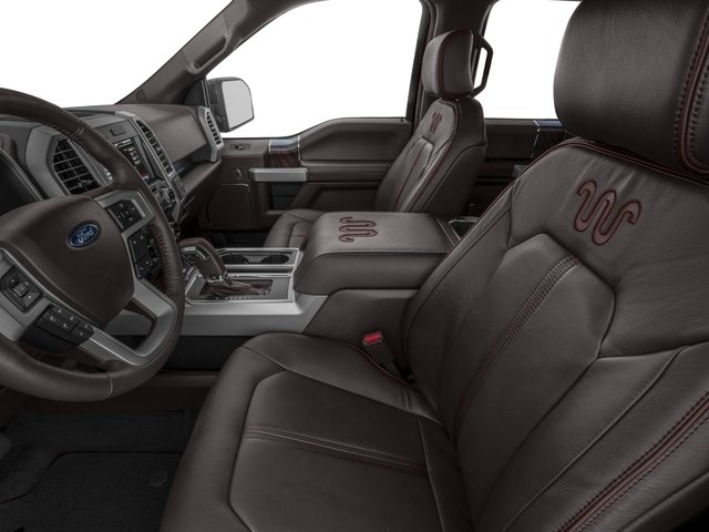 2017 Ford F-150 Pictures F-150 Crew Cab King Ranch 4WD photos front seat interior