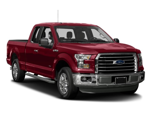 2017 Ford F-150 Pictures F-150 Supercab XLT 4WD photos side front view