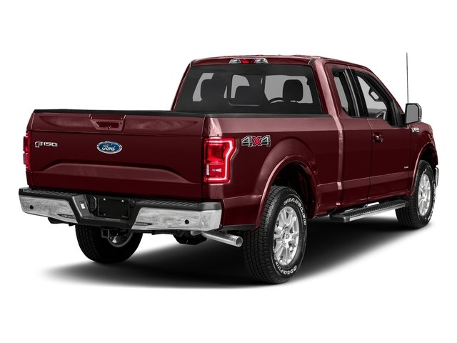 2017 Ford F-150 Prices and Values Supercab Lariat 4WD side rear view