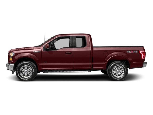 2017 Ford F-150 Pictures F-150 Supercab Lariat 2WD photos side view